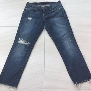 J Brand boyfriend jeans size 5