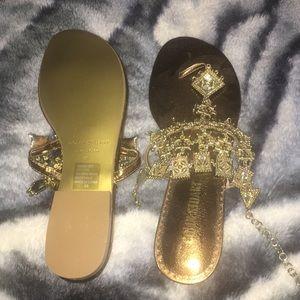 Collin Stuart Chandelier Thongs.  Victoria Secret