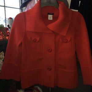 Beautiful orange 🍊 J. Crew sweater