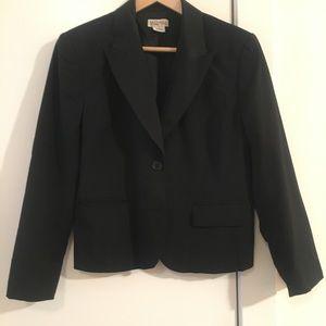 ✨Michael Kors✨ Fitted Black Jacket (10)
