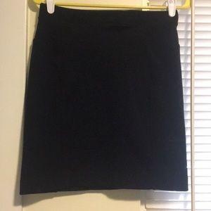 Madewell Ponte skirt with side panels