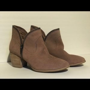 Chinese Laundry suede ankle boot