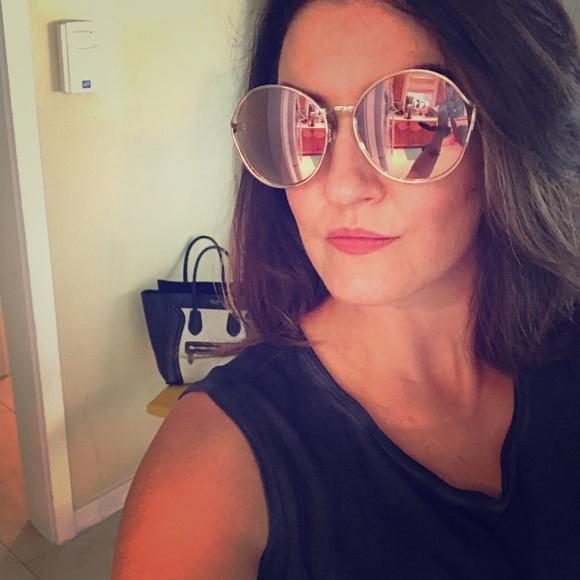 0e05130c5e26 Toms Blythe bronze mirrored Sunglasses. M 5a2ae68b3c6f9f4de7035a7c