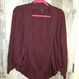 Ann Taylor cocoon cashmere sweater nwot m/L