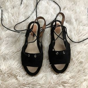 Urban Outfitters lace up sandals