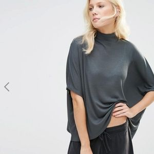 ASOS Y.A.S Samantha Oversized Rollneck Top