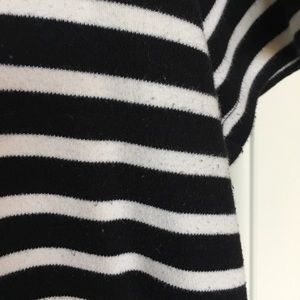 French Connection Dresses - French Connection black&white striped dress sz 10