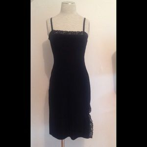 Betsy Johnson Velvet Dress