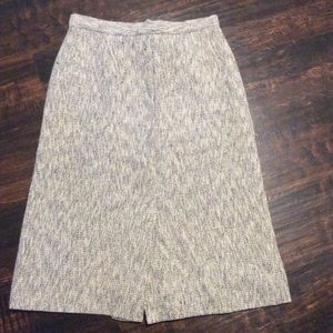 AMAZING gray vintage pencil skirt