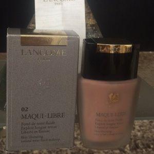Brand new Lancôme Paris Maqui-Libre foundation