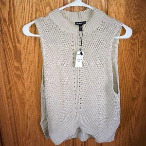 Tank top knit sweater!