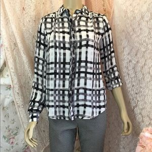 Elle button up blouse
