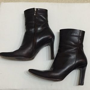 BCBG Maxazria Ankle Boots Full Zip 8.5