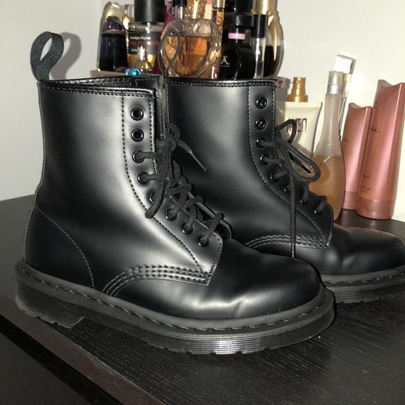 bb9f065d4350 Dr. Martens Shoes | New Dr Martens 1460 Mono Black Boots | Poshmark