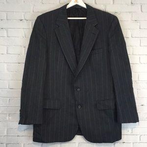 {HOST PICK}  VTG Burberrys' Prorsum Striped Blazer