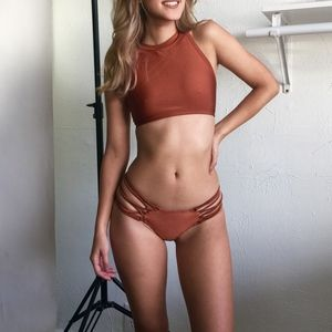 Other - Copper Strappy Swimsuit