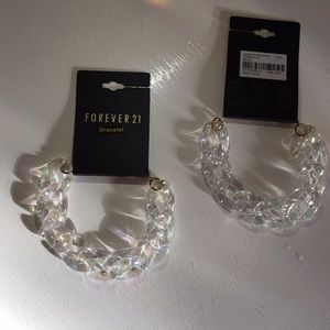 Clear Chain Bracelet