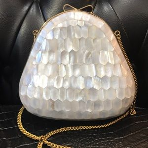 Mother of pearl purse