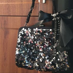 Betsey Johnson Sequin Handbag NWT