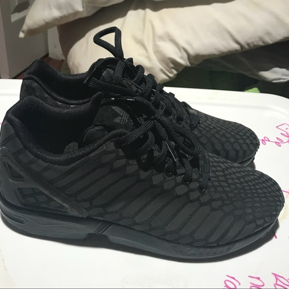 the best attitude 4eb15 dfd61 Adidas ZX flux reflective shoes