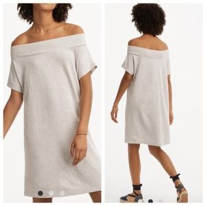 Lou & Grey Signaturesoft off the shoulder dress.