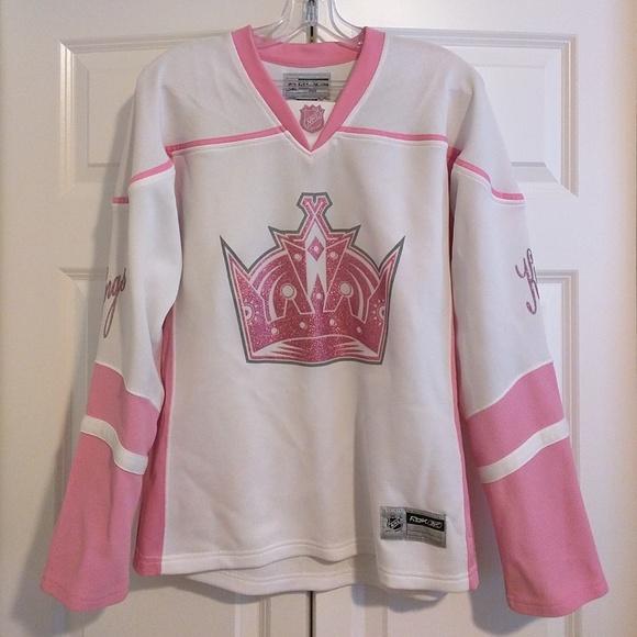 low priced 22edc 3f475 Pink NHL LA Kings jersey, size L