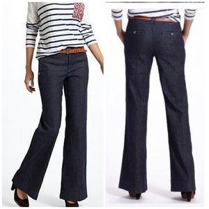 Anthropologie Frontier Wide Leg Jeans