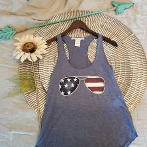 Red white and blue tank!