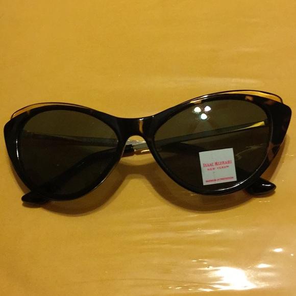 6163fa9cc8282 Isaac Mizrahi Cat Eye Sunglasses