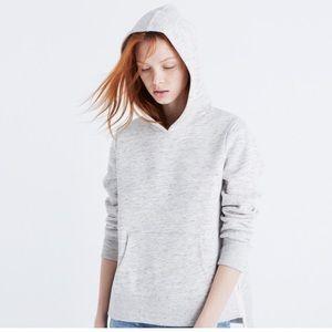 Side Slit Hoodie Sweatshirt