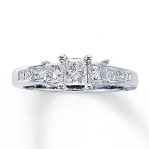 1 Ct 3 stone Ring from Kay Engagement