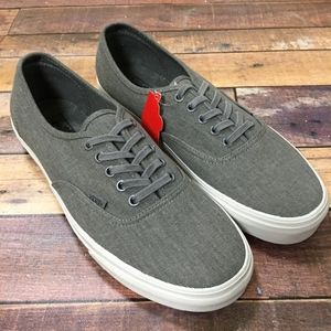 7e6dd2a982676a ... NEW Vans Authentic Overwashed Pewter M11.5 W13 ...