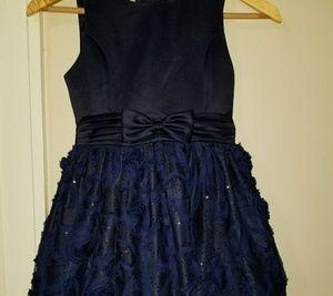 Eye-catching, Sparkly Sequin Soutache Skirt Dress