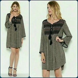 Limited restock! Esley boho shift dress