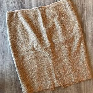 Tracy Reese Vintage Tweed Angora Blend Skirt