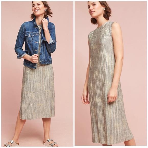 0a070a02ab11 Anthropologie Dresses & Skirts - ❤️Anthropologie Corrina Metallic Dress❤️