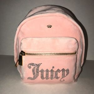 NWT Juicy Couture Mini Backpack