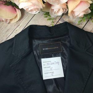 BCBG Max Black Short/Cropped Blazer