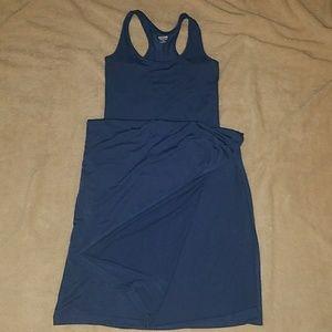 Mossimo Blue Maxi Dress