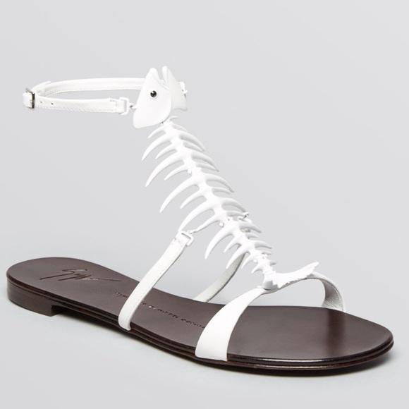 214cd2bf5d776 Giuseppe Zanotti Shoes | Fishbone Sandals | Poshmark