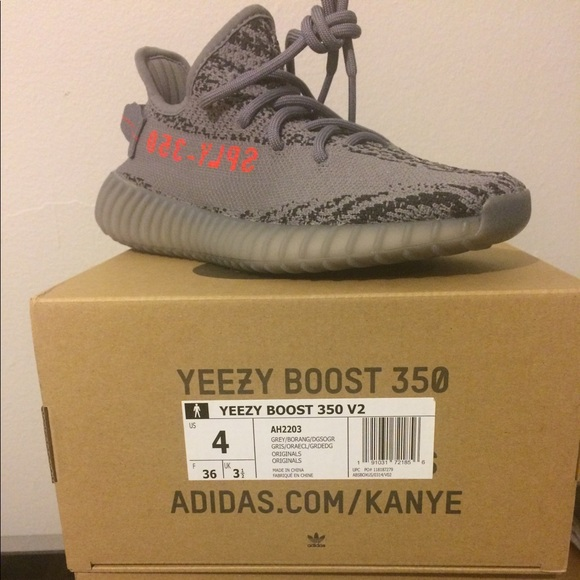 yeezy boost 350 size 4.5