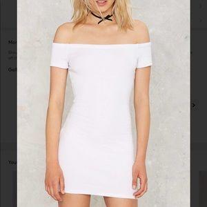 R100 send me reelin bodycon dress