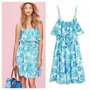 NWT Lilly Pulitzer For Target Sea Urchin Dress L