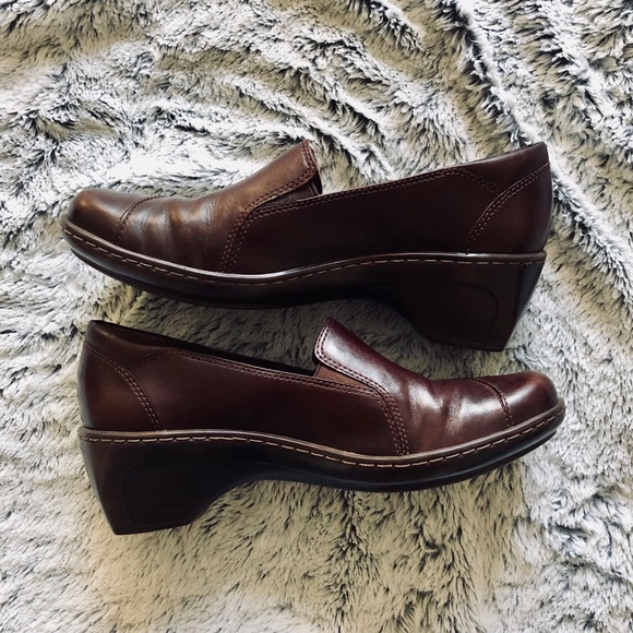 2c2159ef 🎄CLEARANCE!Clark's Loafers Slip On Leather