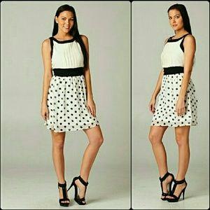 Limited restock! Esley polka dot cocktail dress