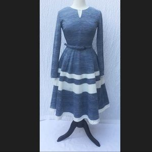New Eshakti Retro Fit & Flare Dress M 8
