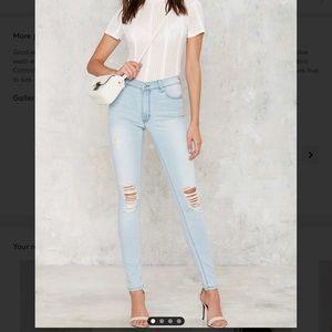 #31💛 res denim kitty skinny jeans