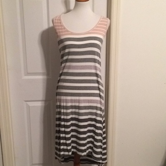 f228642ba9 Dress Barn Other - DB Sunday striped ombré high low dress