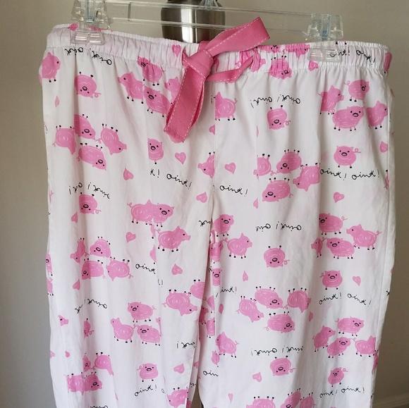 Old Navy Pig Print Pajama Pants - Sz M. M 5a2b205b68027849e2044019 f8015aa22