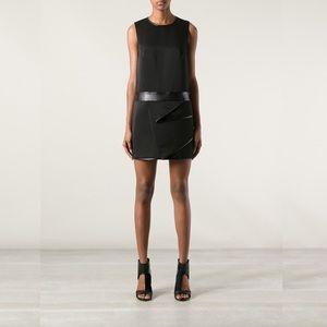 NWT 3.1 Phillip Lim cascade drape dress black